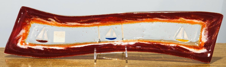 Kiln Art Mini Wave Platter