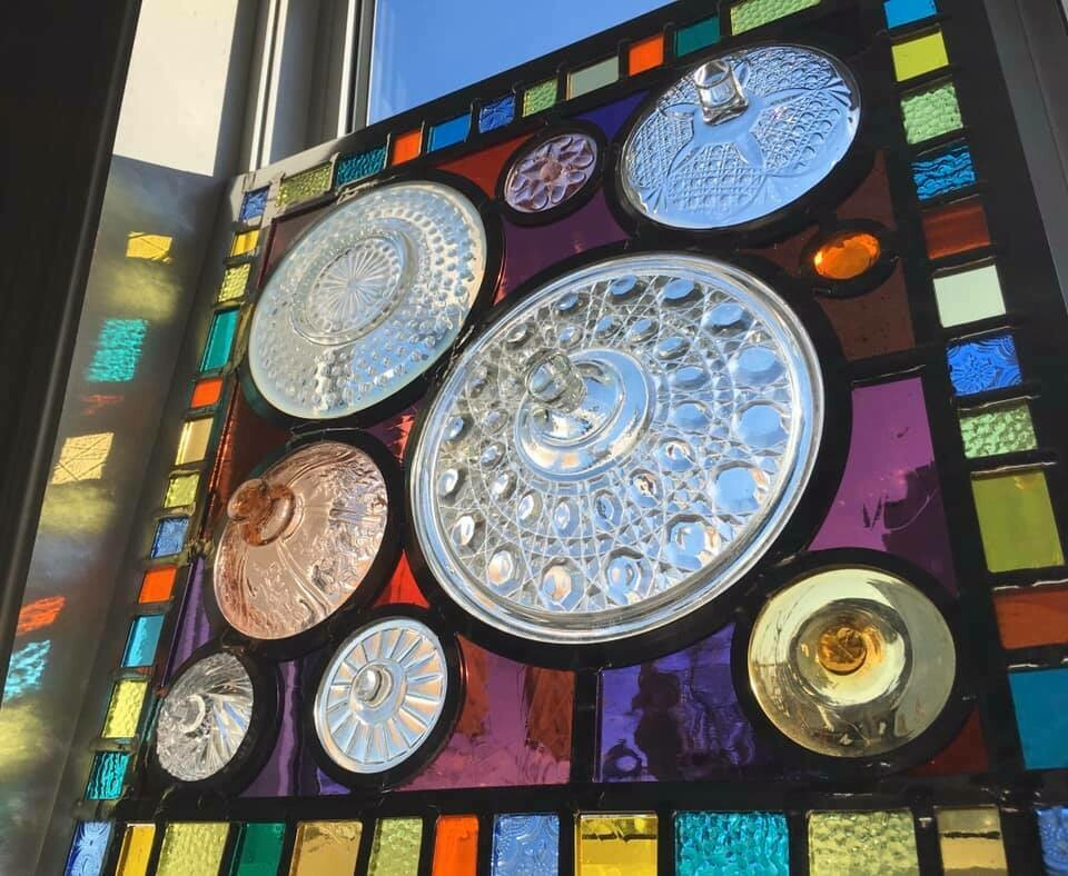 Large Stained Glass Window Lynette Richards