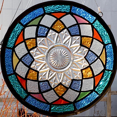 Stained Glass Multi Colour