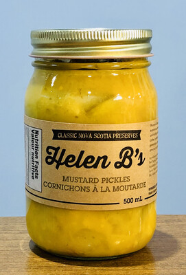 Helen B's Mustard Pickles 500ml