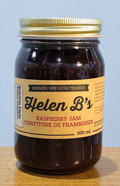 Helen B's Raspberry Jam 500ml