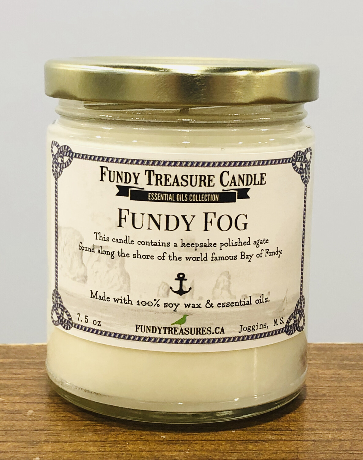 Fundy Fog Candle (essential oil collection)