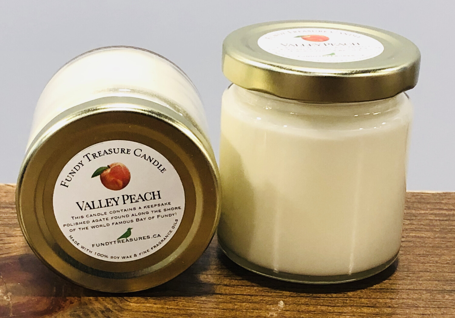 Valley Peach Candle 3.5oz