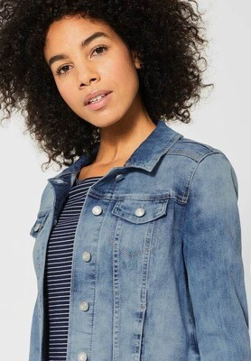 Blouson jeans denim bleu Street One
