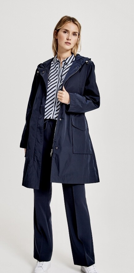 Manteau de printemps OPUS marine