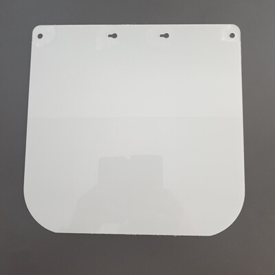 Replacement label for FACEshield Eco