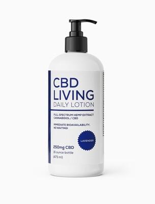 CBD Living Lotion Lavender