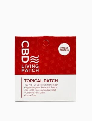 CBD Living Topical Patch ( Patch cutané )