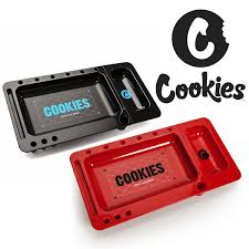 COOKIES ROLLING TRAY - RED and BLACK