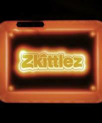 Glow Tray x ZKITTLEZ - ORANGE