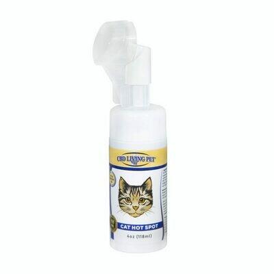 CBD Living - Mousse anti-irritations pour chat
