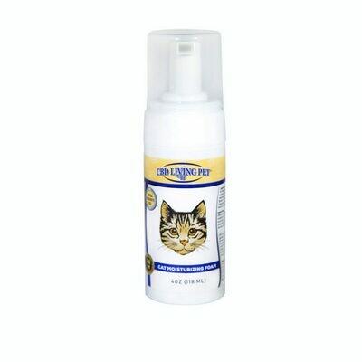 CBD Living - Mousse hydratante pour chats
