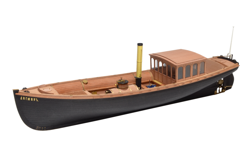 Imperial steam pinnace Dagmar 1:48