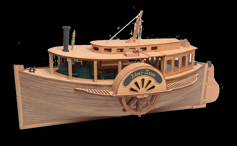 Steam paddle boat Abrau-Dyurso1:48