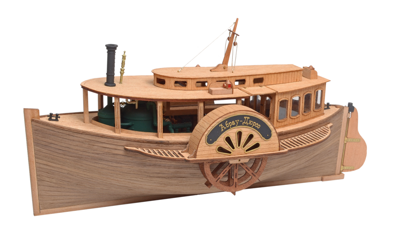 Steam paddle boat Abrau-Dyurso1:48