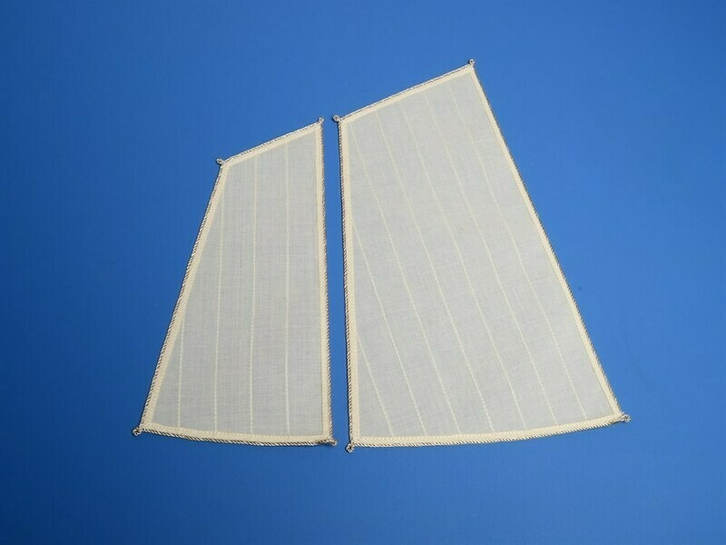 Sails four-oared yawl of XIX century 1:24