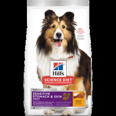 Concentrado para Perro Adult Sensitive Stomach & Skin