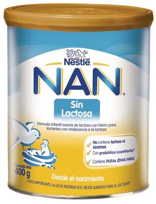 Fórmula Infantil NAN Sin Lactosa