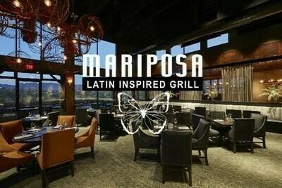 Mariposa Latin Inspired Grill Gift Card