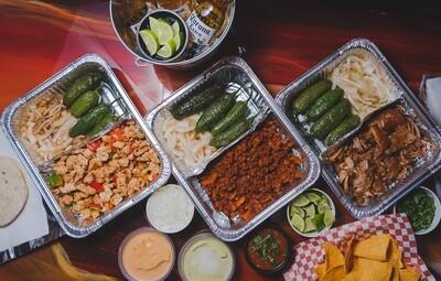 Take-Home Taco Kit (2 protein)