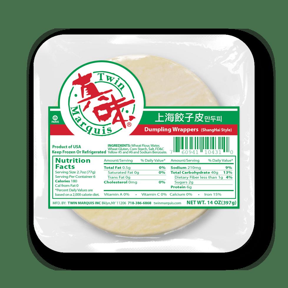 TM Dumpling Wrapper 餃子皮 (2 kinds)