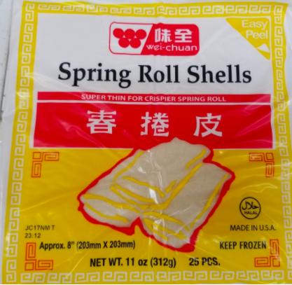 WC Spring Roll Wrapper 味全春捲皮