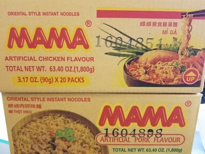 20PK MAMA NDLE CHICKEN FLV
