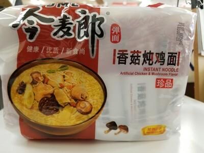 JML INSTANT NOODLE CHICKEN N MUSHROOM FLV 5pcks 今麦郎香菇燉雞麵 5連包