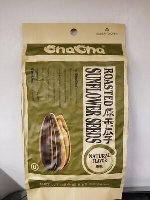 CHACHA SUNSLOWER SEEDS ROASTED ORIGINAL 原味香瓜子