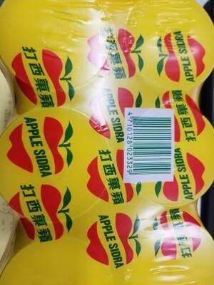 APPLE SIDRA SODA 6 CANS蘋果西打