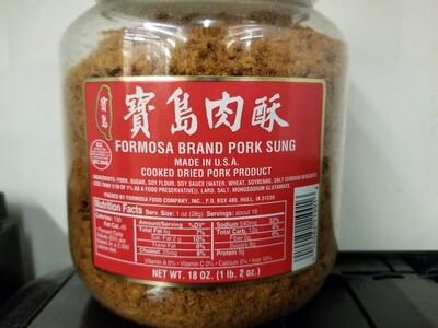 FORMOSA BRAND PORK SUNG 寶島肉鬆