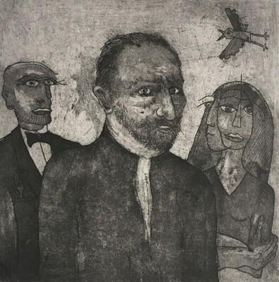 Yolanda & Hippolythe with Vincent