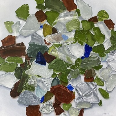 Isolation Activity No. 39: Collecting Beach Glass