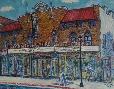 Regent Theatre in Summer