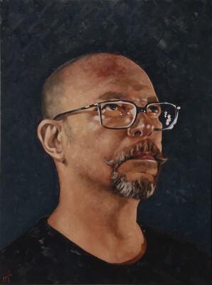 Self-portrait at 48