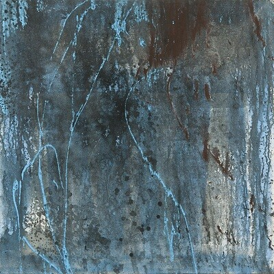 Light Blue Triptych
