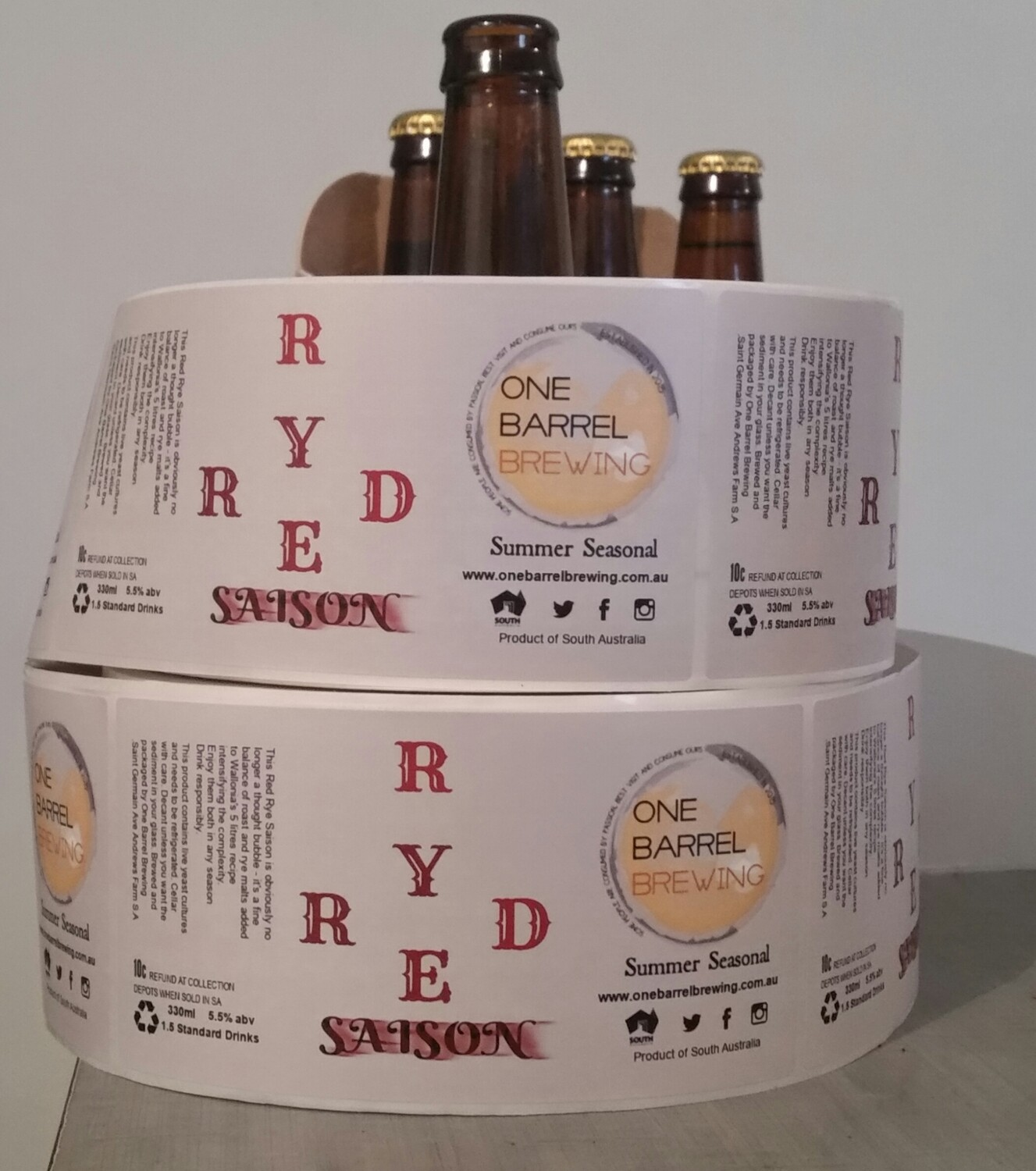 Red Rye Saison   6 x 330ml bottles