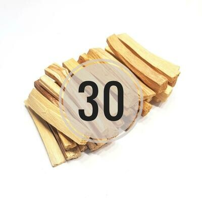 Палочки Пало Санто (стандарт) 30 шт.