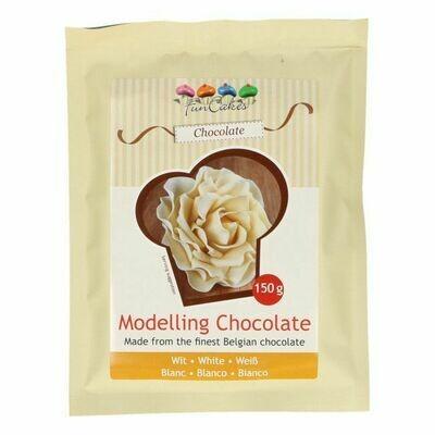 FunCakes Modelling Schokolade Weiß 150g