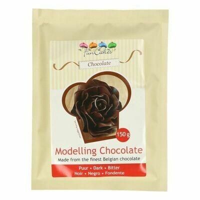 FunCakes Modelling Schokolade Dark 150g