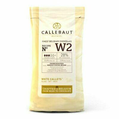 Callebaut Chocolate Callets White 1kg