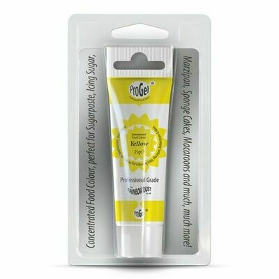 RD ProGel® Concentrated Colour Yellow Blisterpack