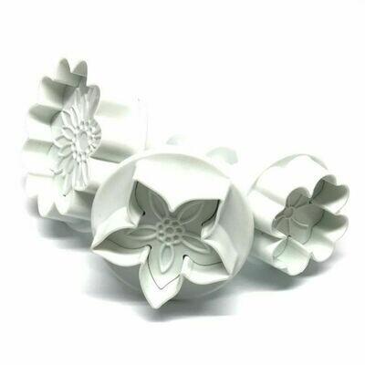 Dekofee Plungers Flowers Mix set/3
