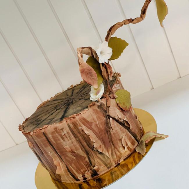 Motivtorten-Workshop Baumstamm Make-Your-Cake!