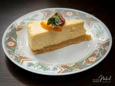 New York Baked Cheese Cake (GF)