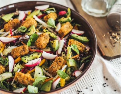 Falafel Autumn Salad