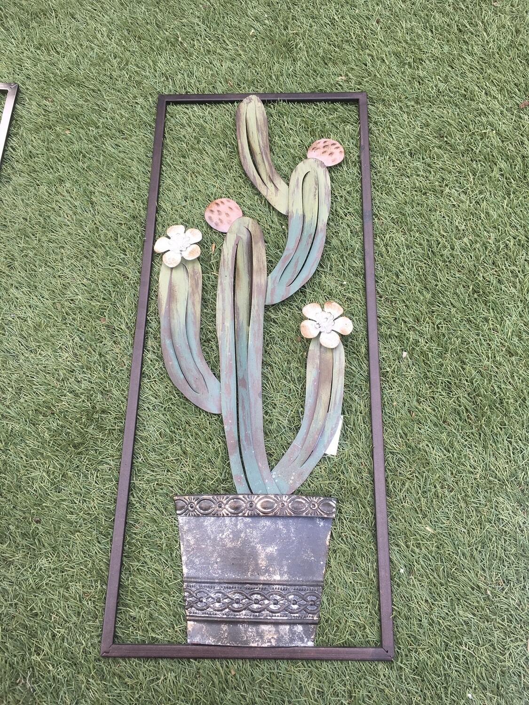 Metal Wall Art Cactus