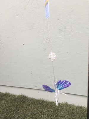 Crystal Art Glass Butterfly
