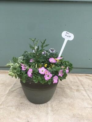 "16"" Green planter Pot"