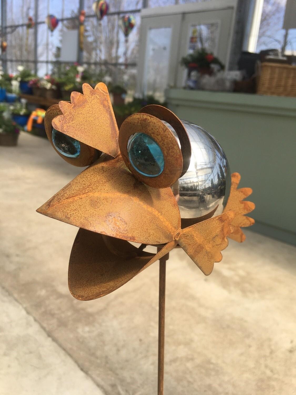 Mirrored Bug On Stake - Fish